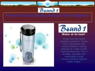Portable Mineral Alkaline Reduced Water Dispenser