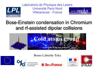 Bose-Einstein condensation in Chromium and rf-assisted dipolar collisions