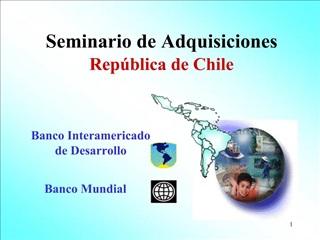 Seminario de Adquisiciones Rep blica de Chile