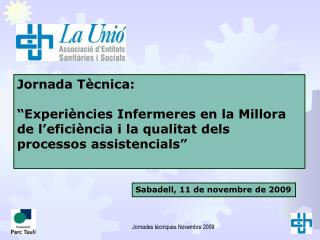 Jornada Tècnica: