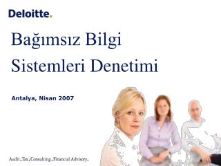 A ntalya ,  Nisan  2007