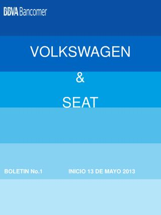 VOLKSWAGEN & SEAT
