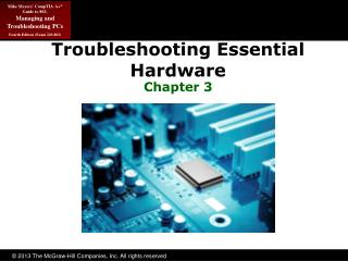 Troubleshooting Essential Hardware