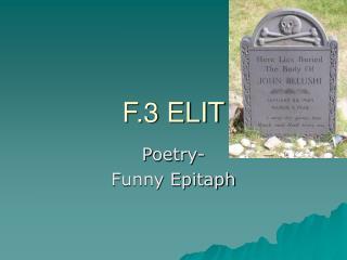 F.3 ELIT