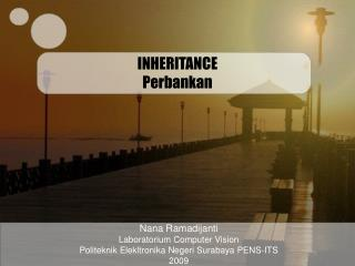 INHERITANCE Perbankan
