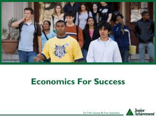 Economics For Success