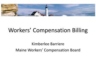 Workers' Compensation Billing