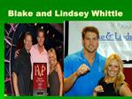 Blake and Lindsey Whittle