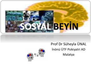 Prof Dr Süheyla ÜNAL İnönü ÜTF Psikiyatri AD Malatya