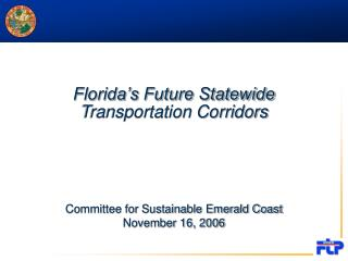 Florida's Future Statewide Transportation Corridors