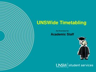 UNSWide Timetabling