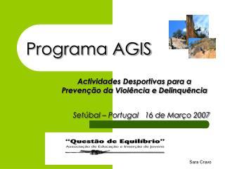 Programa AGIS