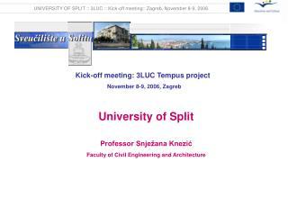 Kick-off meeting: 3LUC Tempus project