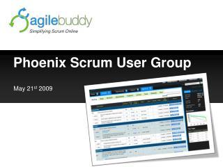 Phoenix Scrum User Group