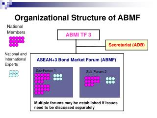 Organizational Structure of ABMF