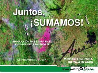 PRODUCCI N M S LIMPIA EN EL CL STER DEL TRANSPORTE