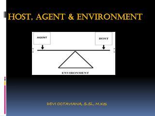 HOST, AGENT & ENVIRONMENT