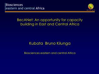 Biosciences eastern and central Africa