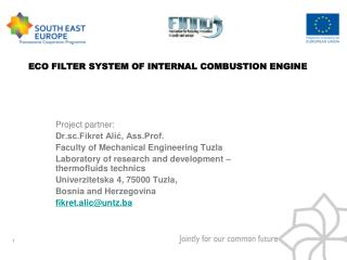 ECO FILTER SYSTEM OF INTERNAL COMBUSTION ENGINE