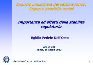 Egidio Fedele Dell'Oste