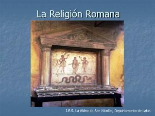 La Religi n Romana
