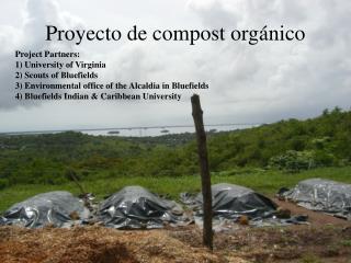 Proyecto  de compost  orgánico