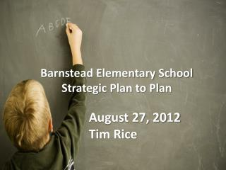 Barnstead Elementary School Strategic Plan to Plan