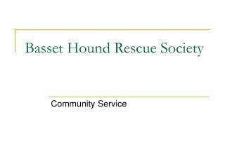 Basset Hound Rescue Society