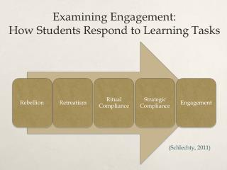 Examining Engagement:  How  S tudents  R espond to Learning  Tasks
