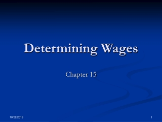 Earning a Living   Wage Determination