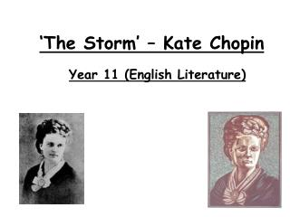 'The Storm' – Kate Chopin