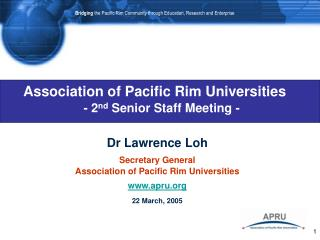 Association of Pacific Rim Universities