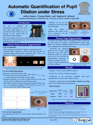 Automatic Quantification of Pupil Dilation under Stress