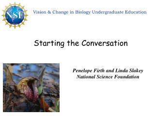 Vision & Change in Biology Undergraduate Education