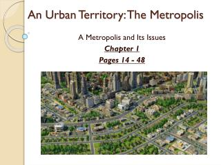 An Urban Territory: The Metropolis