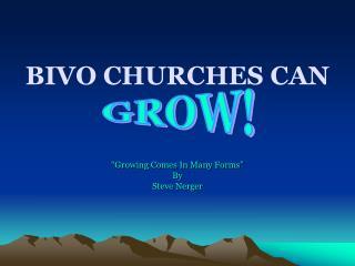 BIVO CHURCHES CAN