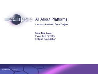 All About Platforms