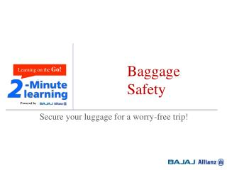 Baggage Safety