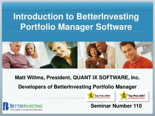 Introduction to BetterInvesting Portfolio Manager Software