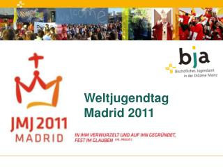 Weltjugendtag Madrid 2011