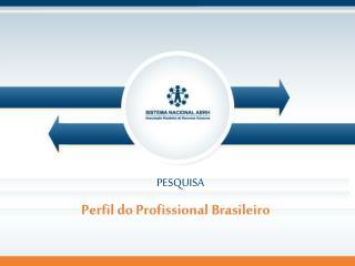 Perfil do Profissional Brasileiro