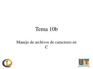 Tema 10b