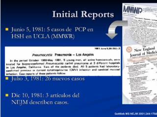"""1982  El brote se transforma en epidemia. """"La plaga gay"""".  Casos en personas con hemofilia/ADEV"""