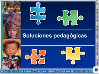Soluciones pedagógicas