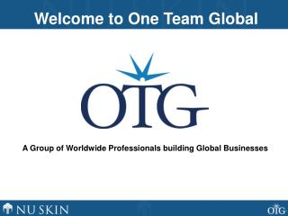 A Group of Worldwide Professionals building Global Businesses