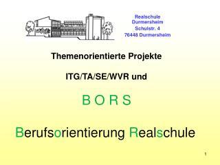 Realschule Durmersheim Schulstr. 4 76448 Durmersheim