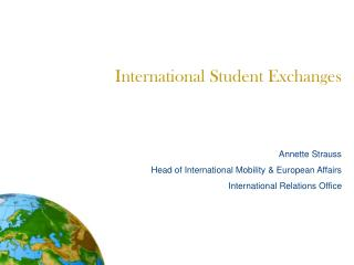 International Student Exchanges