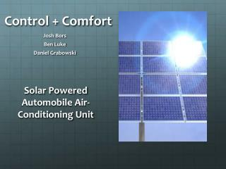 Control + Comfort
