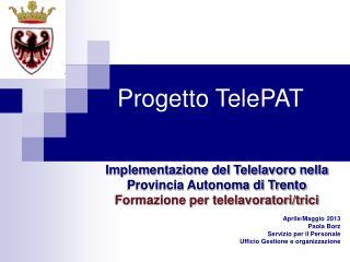 Progetto TelePAT