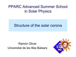 Structure of the solar corona